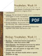 Biology Vocabulary Quarter 2