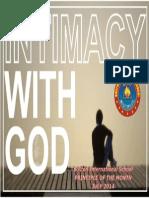 July - Intimacy With God