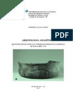 Arqueologia Amazonica - Questoes Cronologicas e o Periodo Formativo Da Regiao de Santarem-libre