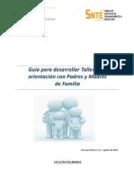 Guia Talleres Para Padres y Madres Proyecto 3
