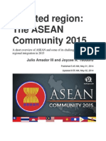 Asean 2015 by Julio Amador III and Joycee A. Teodoro