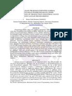 Jurnal Optimalisasi Produksi Industri Sambal Menggunakan Pemrograman Linier(1)