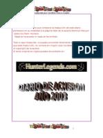 Kenyon, Sherrilyn - El Diario Secreto de Acheron 2003