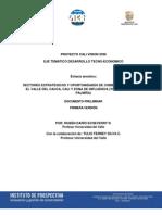Sectores estrategicos de oportunidades Cali, Yumbo & Jamundi.