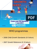 WHO Growth Chart ppt
