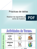 WordPractica Tablas