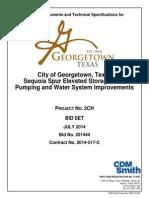 Georgetown-Sequoia -100% Bid Set Specs
