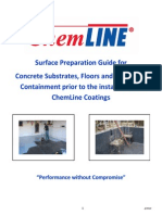 ChemLine Surface Preparation Guide Concrete