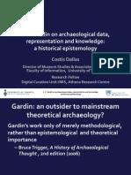 Dallas 2014 - J.-C. Gardin on archaeological data, representation and knowledge.pdf