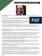 Les 10 leçons de management par Don Corleone