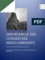 IMPORTANCIA  DEL CUIDADO DEL  MEDIO AMBIENTE.pdf