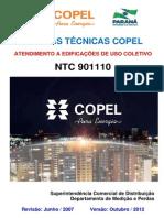 NTC 901110 - Atendimento a Edificações de Uso Coletivo