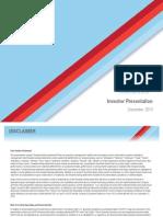 Go Go December 2013 Investor Presentation