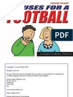 101 Uses for a Football (Summersdale Humour) by Louise McKay ABEE