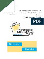 Delegates_ Welcome Booklet TIF 2014
