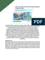 Menggali Potensi Coal Bed Methane