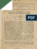 Nicolae Iorga - Practica Domnească a Unui Ideolog - Dimitrie Cantemir