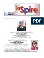 InSpire - August 11, 2014