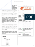 Bank of Baroda - Wikipedia, The Free Encyclopedia