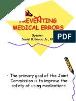 Medication Errors