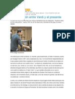 Una Conexión Entre Verdi y El Presente
