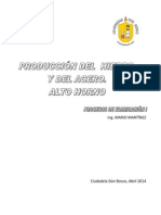 Produccion Del Hierro y Del Acero_alto Horno