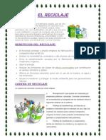 El Reciclaje Paola Perez