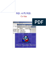 Giao Trinh Oracle SQL PLSQL Co Ban