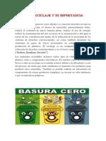 El Reciclaje y Su Importancia