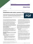 Rehabilitation After Stroke-summary of NICE-bmj