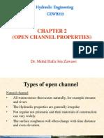 CEWB223 - Channel Geometry