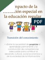El Impacto de La Educación Especial en La