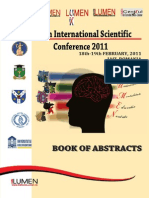 Book of Abstracts LUMEN 2011 - Editura Lumen