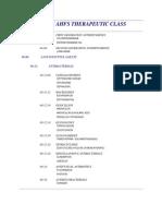 AHFS Categories