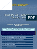 3. Redes de Distribucion de Agua Potable