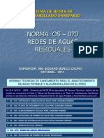 1. Redes de Alcantarillado - Norma Os-070