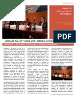 Gacetilla 6 - Taller Sobre Historia Clínica Informatizada