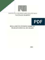Reglamento Interno TEG
