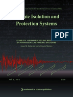 Seismic Isolation and Protection Systems