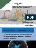 A Case Study on Google Inc
