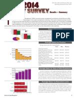 2014 ism Salary Survey Brief