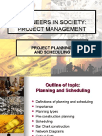 2_EIS PMsep13 Planning and Scheduling2