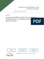 Los Negocios Jurídicos Mortis Causa en El Derecho Peruano (1) (2)
