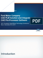 CAE PLM Solution and Integration With CAE