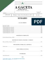Decreto 39-2013 - Gaceta No. 242