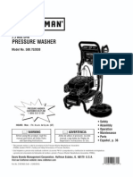 1101259L 580.752830 Pressure Washer Manual