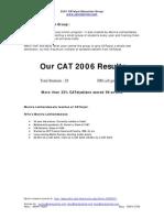 CAT 2004 Solution