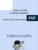 Curs 10 Tusea Si Astmul Bronsic