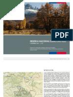 Plan Maestro Reserva Nacional Cerro Castillo