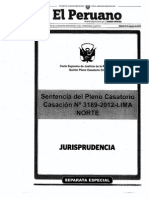 Sentencia de Pleno Casatorio- Casación 3189-2012-Lima Norte